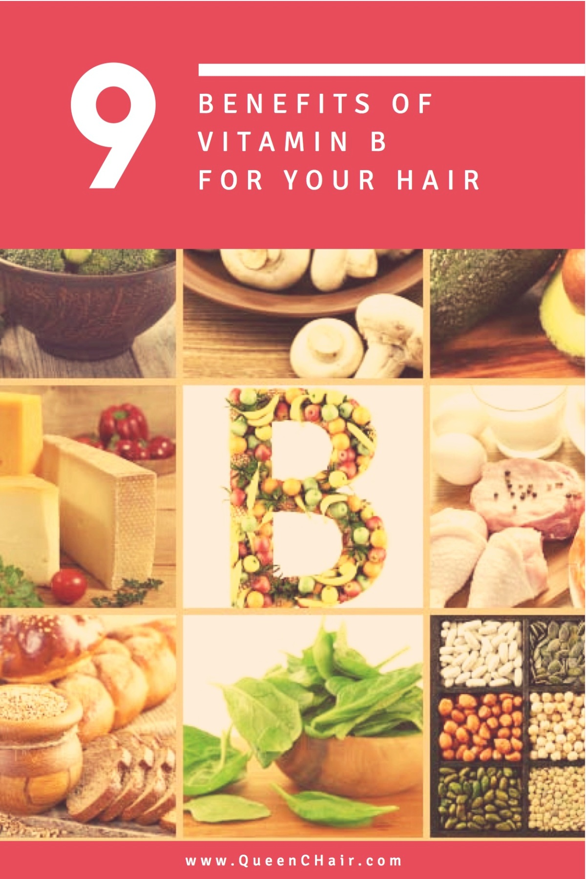 9 Benefits of Vitamin B for your hair1
