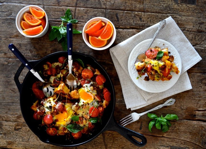 ratatouille-baked-eggs