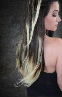Dark Brown to Soft Blonde