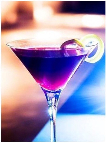 Purple Rain Cocktail